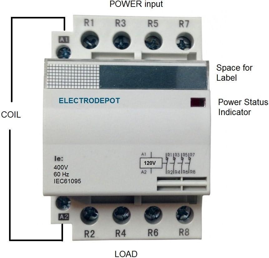 Lighting Contactor Ballast Wiring Diagram