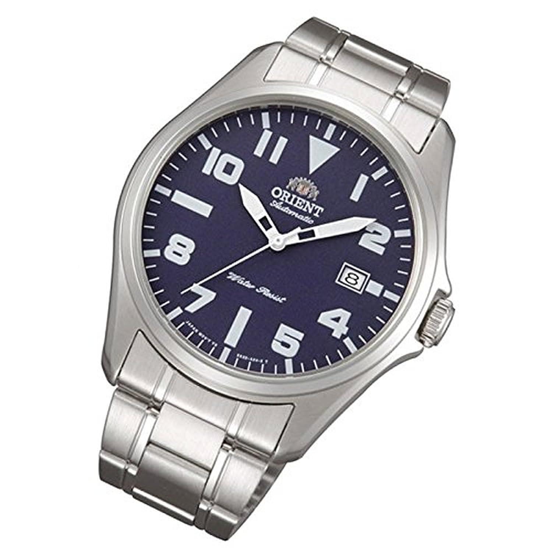 Orient Uhr Classic Automatik blue Datum klassische Herrenarmbanduhr FER2D006D0