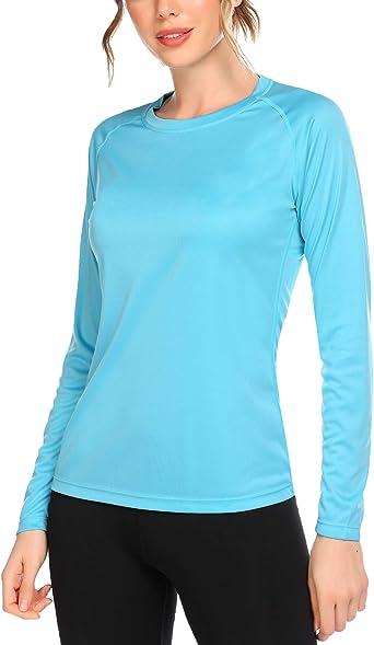 Top para mujer de manga larga con protecci/ón UV