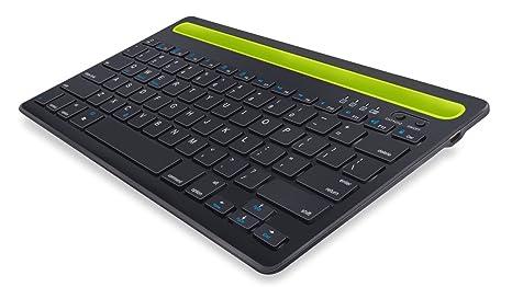puhong batería inalámbrico teclado Bluetooth 4.0 Android 3.0 IOS WINDOWS XP Windows 7 aplicable a Windows