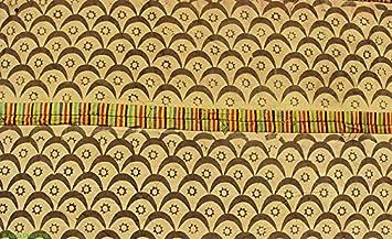amazon com adinkra stamped cloth asante ghana large african art