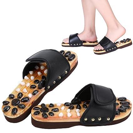 masaje piedras con de Zapatos naturales 0wkXPn8O
