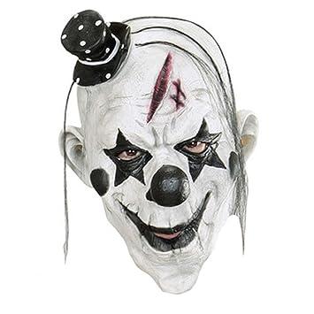 Queenshiny® látex máscara realista Partido de Cosplay de Halloween Disfraz (Payaso asesino): Amazon.es: Juguetes y juegos