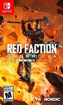 Resultado de imagem para Red Faction Guerrilla ReMarstered switch