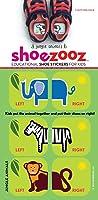 Shoezooz - Educational Shoe Stickers for Kids - Jungle Animals