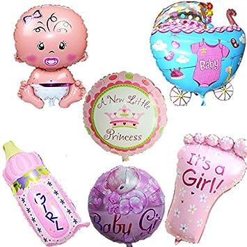 6 Unids globos XL baby shower rosa ideales para la fiesta de nuevo bebes decoracion de