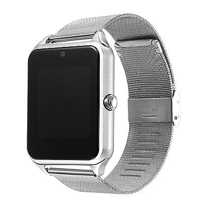 Amazon.com: YIMOHWANG Z60 - Reloj inteligente con correa de ...