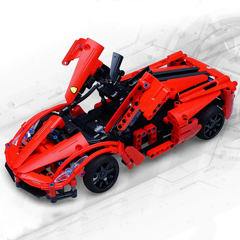 Electric Building Blocks Vehicles Jadpes Remote Control Red Technology Assembled Building Block Car Toy Rc Electric Building Blocks For Kids Children Gifts Rc Car Toy Amazon Com Industrial Scientific