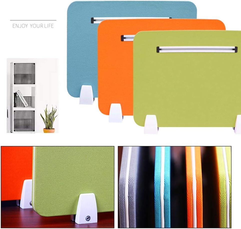 30 x 50 cm visuelle Ablenkung akustische Trennw/ände Schule f/ür B/üro Ahmi 2 St/ück Premium Schreibtisch-Trennwand Orange