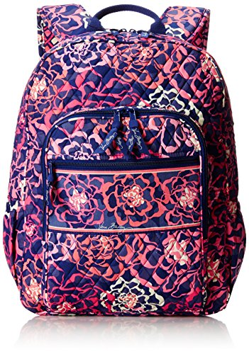 Vera Bradley Campus Tech Backpack Lilac Tapestry One
