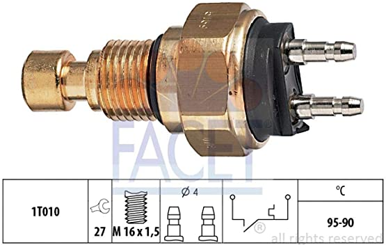 Facet Replacement Electric Fan Switch 75151