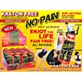 No Pain Miracle Liquid for Body & Muscle Pain Relief and Relaxation 12ct