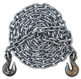 3/8'' - Grade 100 Binder Chain - Grab Hooks - 25' Length
