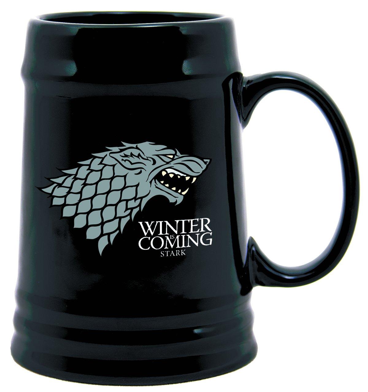 Dark Horse Deluxe Game of Thrones Ceramic Stein: Stark Sigil Diamond Comic Distributors AUG120093 Accessory Consumer Accessories