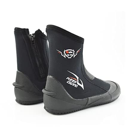 Ljourney High Upper Diving Shoes Vulcanización Botas de buceo Water Sport Boots Wading Shoes Antideslizante Botas