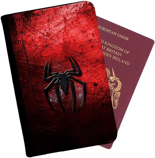 Multicolore Multicolore Spiderman /Étui /à Rabat avec /étiquette de Bagage et Passeport Vintage - LGT512