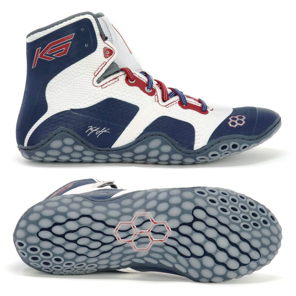 RUDIS Snyder CALIGA Red/White/Blue Adult Wrestling Shoes