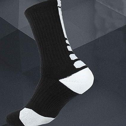 Bobury Thicken Towel Men Socks Sport Baloncesto Profesional Elite Sock Baloncesto Calcetines Deportivos Ciclismo Calcetines de