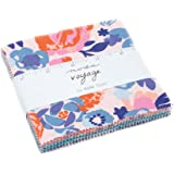 Voyage Charm Pack By Kate Spain; 42-5 Precut Fabric Quilt Squares
