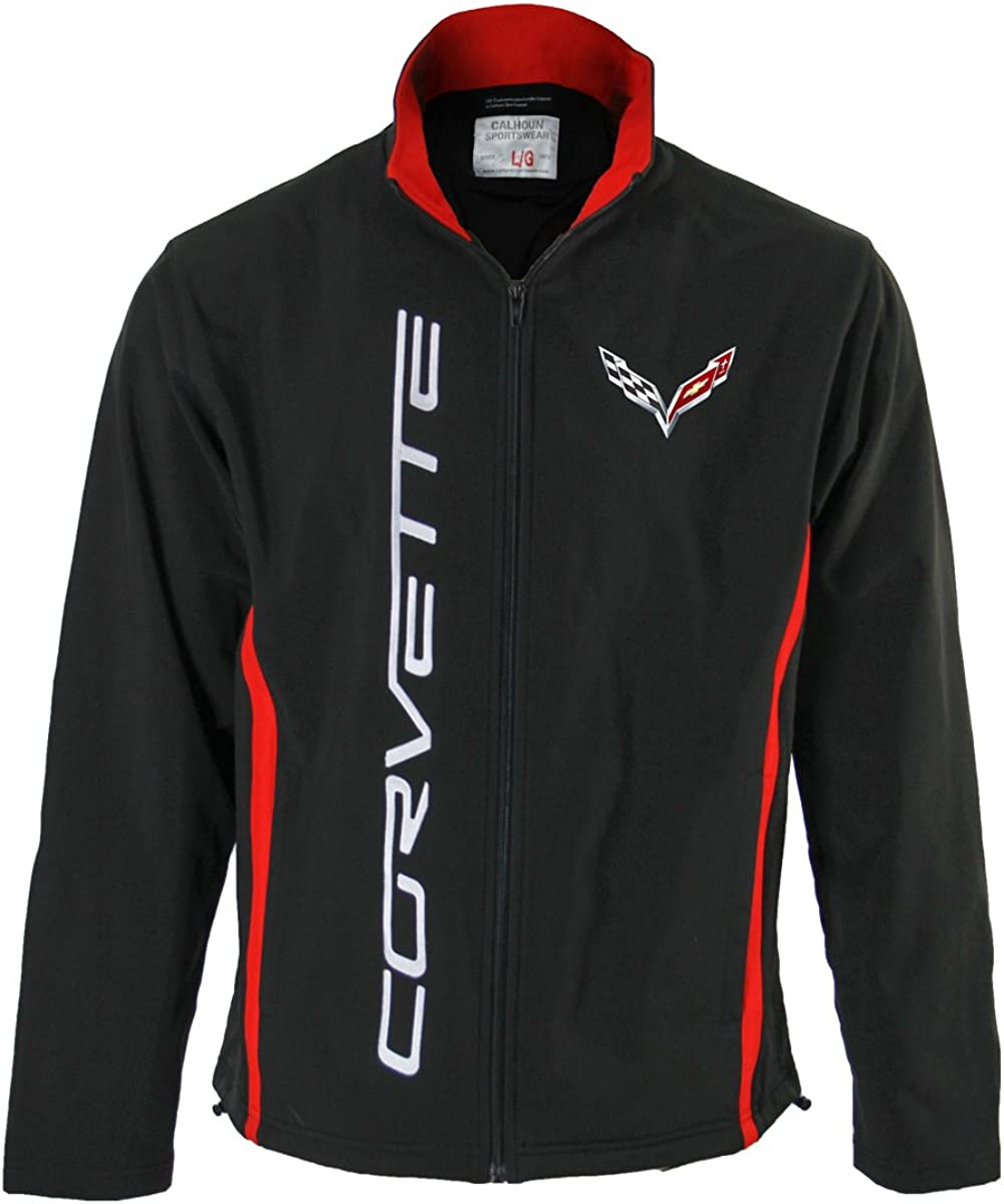 GM Bonded Polyester All-Season Jacket, Chevrolet, Corvette, Camaro, Silverado, Unisex for Men and Women