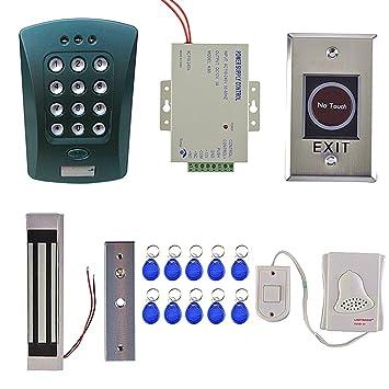 Gazechimp Alarma de Casa Teclado del Sistema de Control de ...