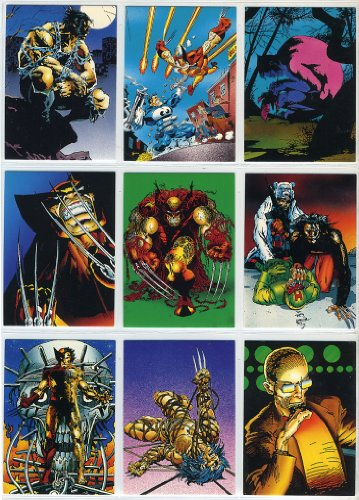 Card Collector Set 2 (1992 Comic Images Wolverine 90-card