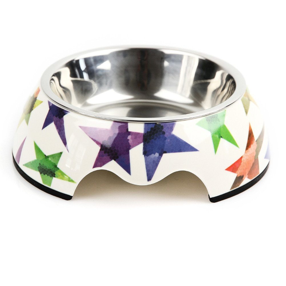 Large Dog Food Water Bowls (Removable Bowl), Easy Clean Dishwasher Safe for Dogs and Cats,C