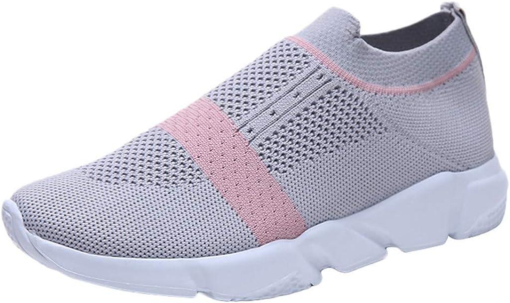 Zapatillas Deportivas De Mujer sin Cordones Malla Zapatos Running Fitness Sneakers Casual Rebajas Deporte Exterior Calzado: Amazon.es: Zapatos y complementos