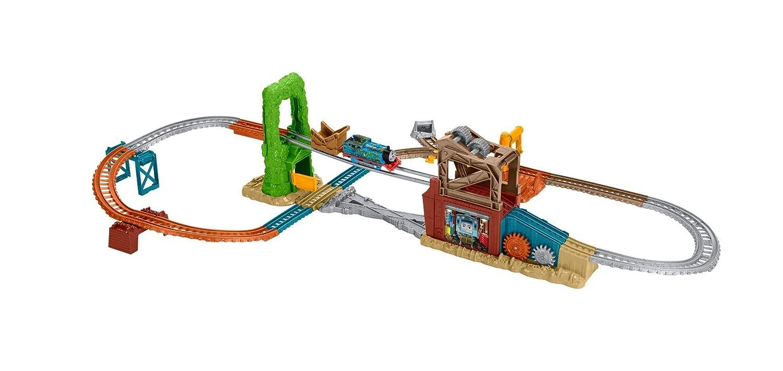 Thomas & Friends - Circuito de la chatarrería (Mattel FBK08): Amazon.es: Juguetes y juegos