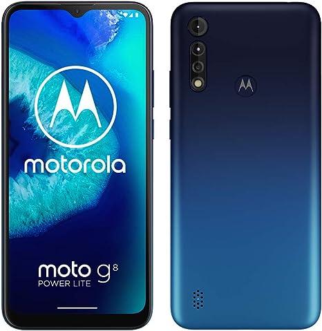 Motorola Moto G8 Power Lite, batería 5000 mAh, triple cámara 16 MP ...