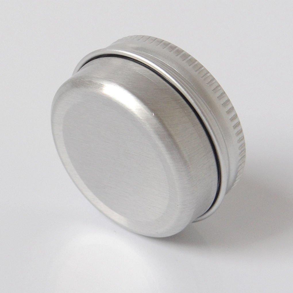 Zerama B/álsamo de U/ñas de Arte Cosm/ética Crema Maquillaje de Labios Pot Jar Esta/ño envase del Caso 10pcs