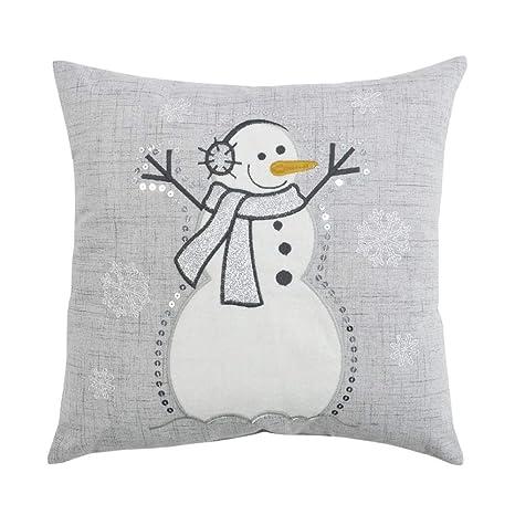 Amazon.com: Comfy Hour - Cojín de Navidad de invierno para ...