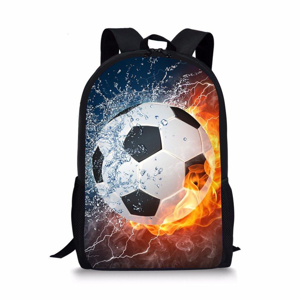 85ee15d81efb Nopersonality Children Kids Football Backpack Bagpack Hipster Child Boys  Back Bag  Amazon.co.uk  Luggage