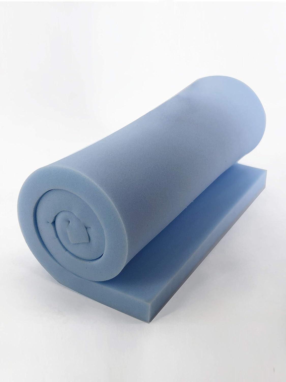 Cortassa - Lámina de espuma de poliuretano de alta rigidez - Dimensiones: 100 x 200 cm y altura de 2 cm.: Amazon.es: Hogar