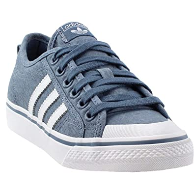adidas Womens Nizza Casual Athletic   Sneakers Blue 2692ff584