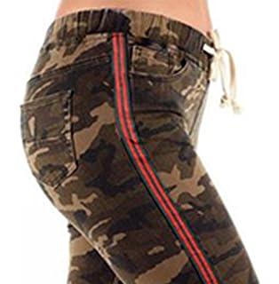 c2e56204fa0 Cover Girl Camo Print Skinny Jeans Joggers Cargo Lace Leg Womens ...