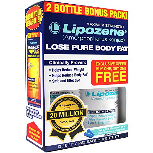Lipozene Diet Pills - Maximum Strength Fat Loss Formula - 1500mg ,...