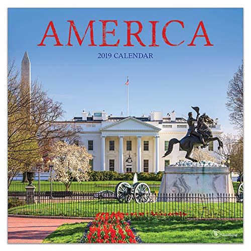 2019 America Wall Calendar ()