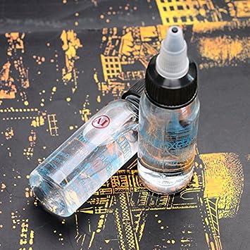 5pcs profesional 30 ml botella tinta del tatuaje mezcla de agente ...