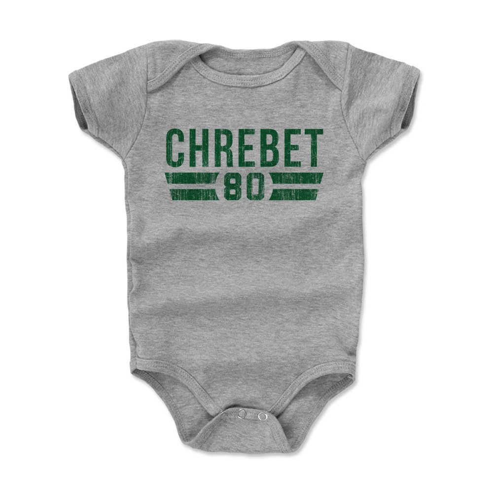Wayne Chrebet Font 3-24 Months 500 LEVEL Wayne Chrebet New York Football Baby Clothes /& Onesie