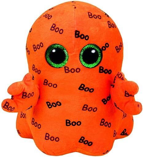 """2016 Ty Beanie Boos Halloween GHOULIE Orange Ghoul 6/"""""""