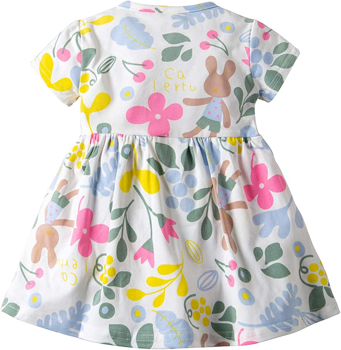 Newborn Baby Girls Infant Short Sleeve Rompers Jumsuit Bodysuit Outfits Clothes