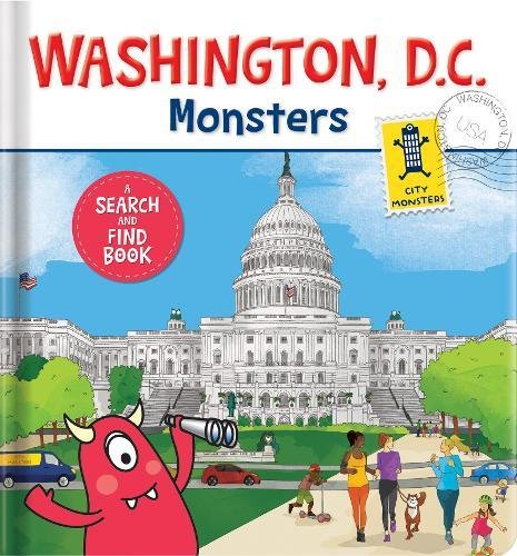 Washington D C  Monsters  A Search And Find Book