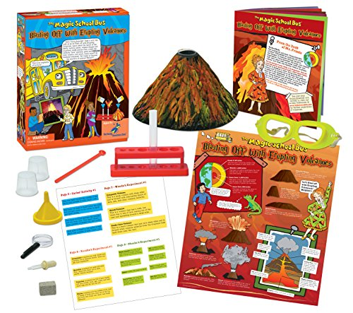 The Magic School Bus - Erupting Volcanoes