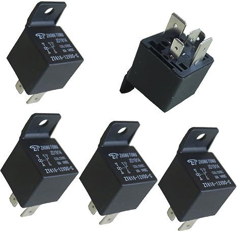 12V 80A 5 Pin SPDT Wechselrelais für Auto Auto Fahrzeug Boot LKW