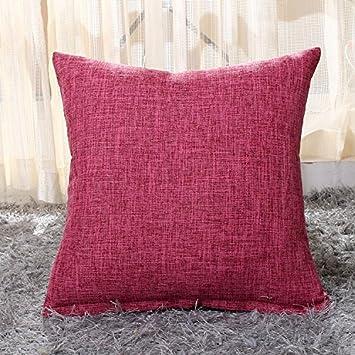 Amazon 40Pc Simple Plain Cushion Cover Solid Decorative Pillow Beauteous Plain Decorative Pillows