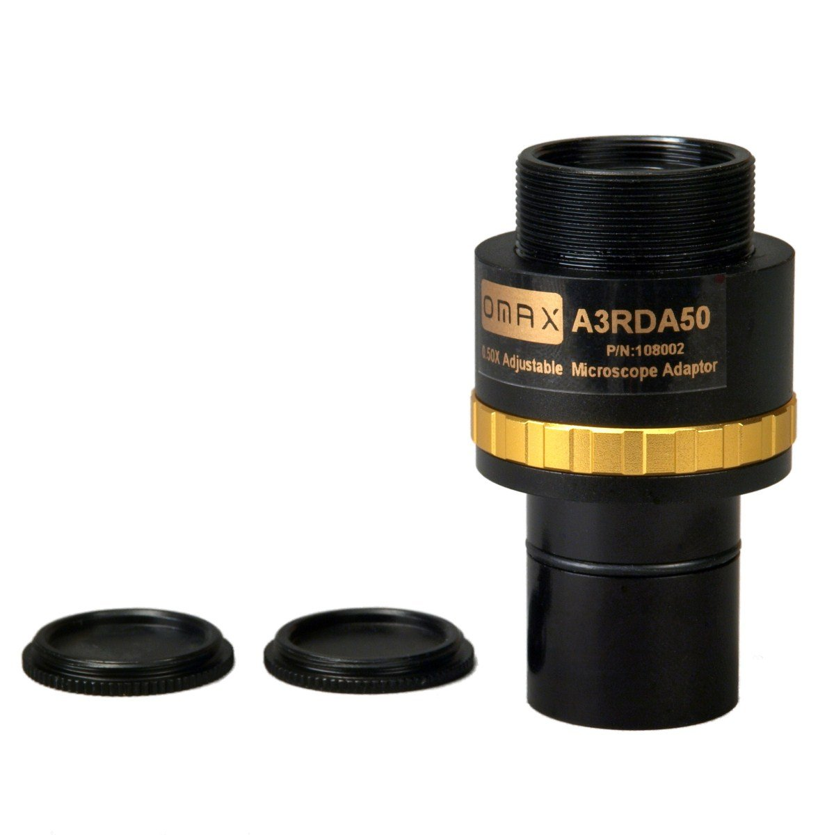 OMAX 0.5X Adjustable Reduction Lens for Microscope Camera