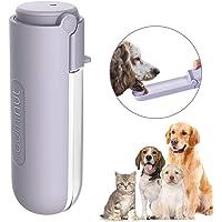 PQZATX Dog Water Feeder 400Ml Dog Travelling Drink Bottle Pet Water Feeder Dispenser Pet Product Pink