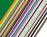 Permanent Adhesive Backed Vinyl Sheets by EZ