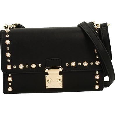 Handtaschen Damen, Color Weiß, Marca, Modelo Handtaschen Damen Ripley Weiß Roccobarocco